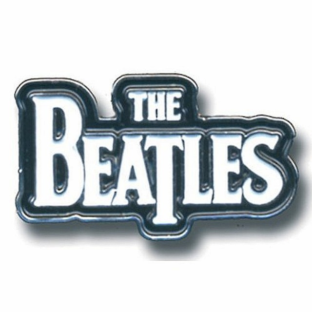 BEATLES ビートルズ - メタル・ピンバッジ DROP T...