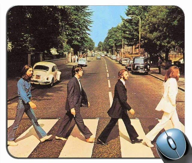 BEATLES ビートルズ - ABBEY ROAD MOUSE PAD / マ...