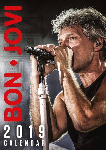 BON JOVI ボン・ジョヴィ - Official 2019 Calend...
