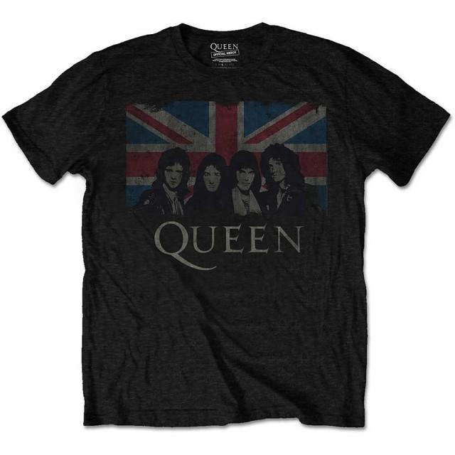 QUEEN クイーン - Union Jack / Tシャツ / メンズ...