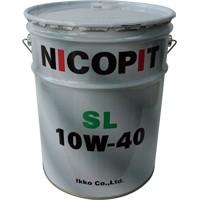 鉱物油 4ストエンジンオイル 1W-4 SL 2L NICOPIT(...