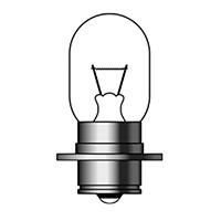 白熱電球 PH7s 1P2063 PH7s 12V18W P15S25-1 M&H...