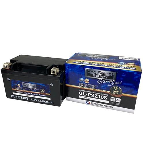 YTZ10S互換 GL-PSZ10S PSB 液入充電済 新世代GEL...
