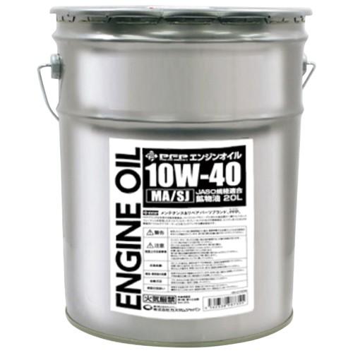 鉱物油 エンジンオイル 10W-40 MA/SJ 20L PFP(ピ...