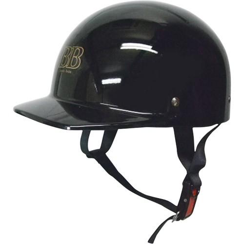ハーフタイプ ハーフキャップヘルメット ブラック...