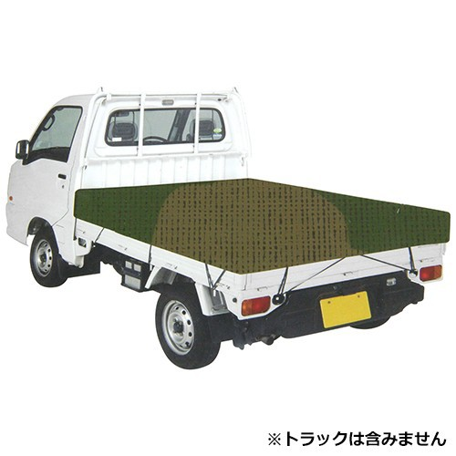軽トラ シート 迷彩 軽トラック 荷台シート トラ...