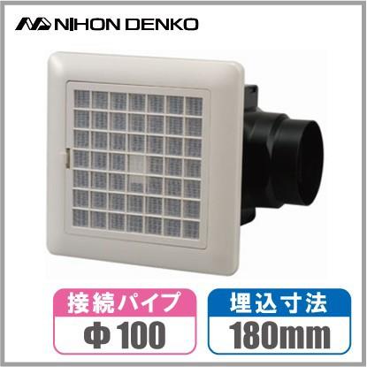 日本電興 換気扇 浴室 トイレ UBF-2000 ダクト用 ...