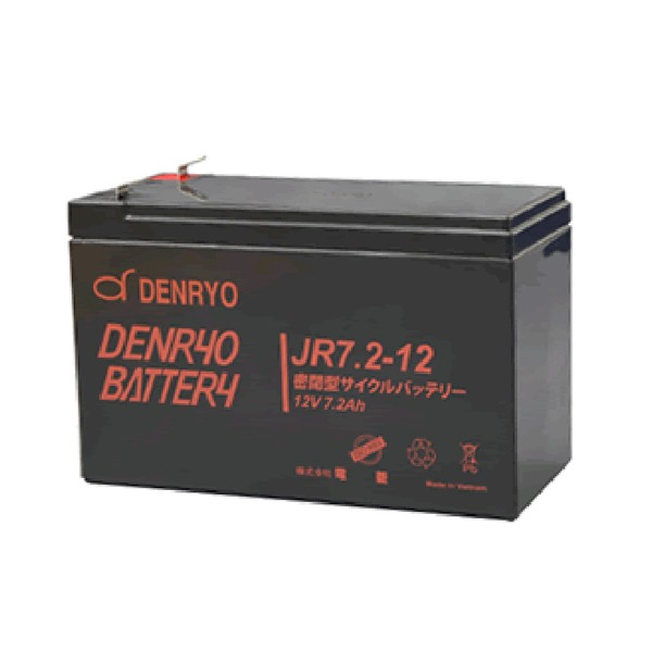 JR7.2-12 電菱 密閉型鉛蓄電池 12V7.2Ah(20時間率...