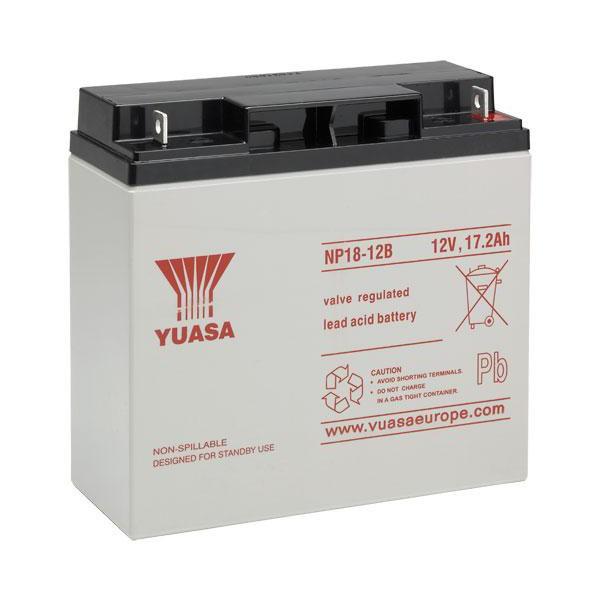 NP18-12B ユアサ製 小形制御弁式鉛蓄電池 DC12V17...
