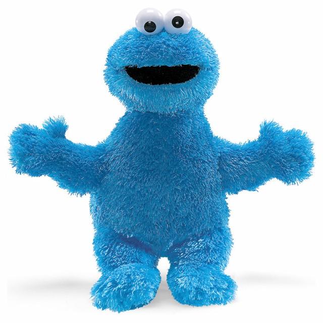GUND】セサミストリート -Cookie Monster-