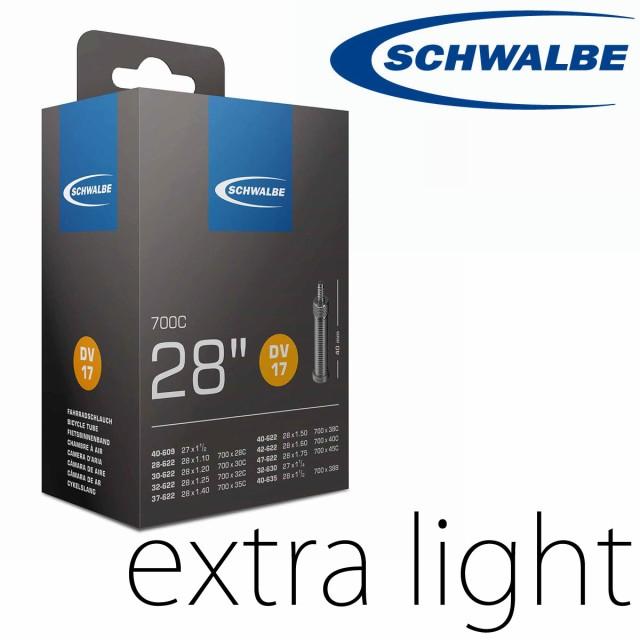 仏式 チューブ 700X18-25C シュワルベ Schwalbe e...