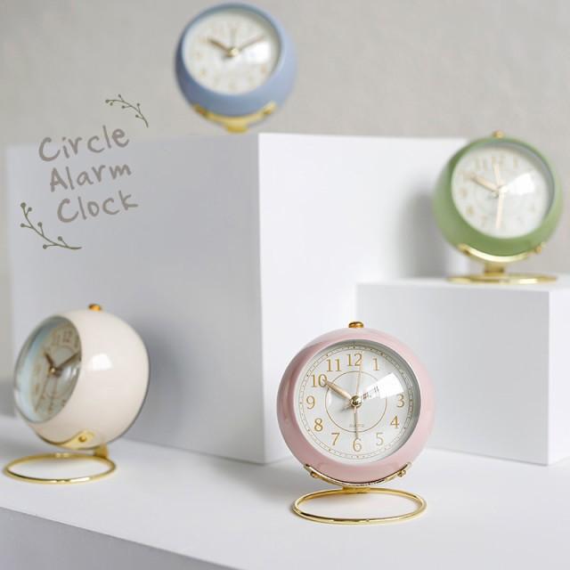 置き時計 まるころ目覚まし時計 おしゃれ かわい...