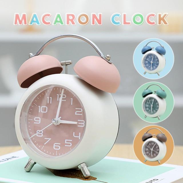 目覚まし時計 置き時計 大音量 卓上 時計 鐘つき...