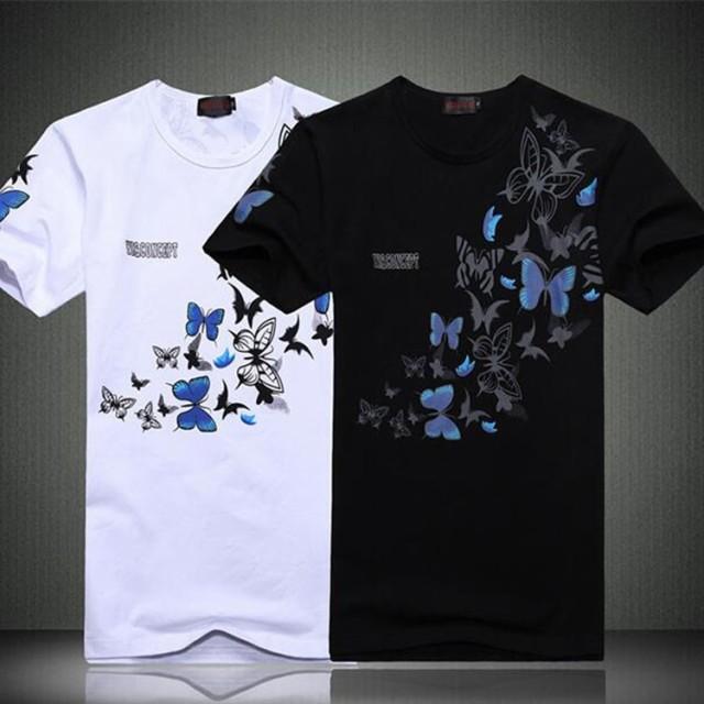 ぽっきり Tシャツメンズ プリントTシャツ 半袖T...