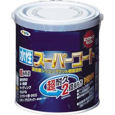 アサヒペン 水性スーパーコート 0.7L こげ茶