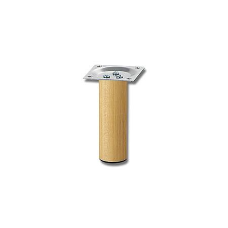 スマートレグ木製丸脚  シルバー 32.8×100ミリ K...