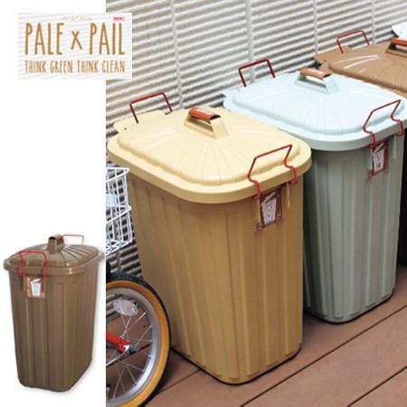 PALE PAIL(ペール×ペール) ゴミ箱 60Lブラ...