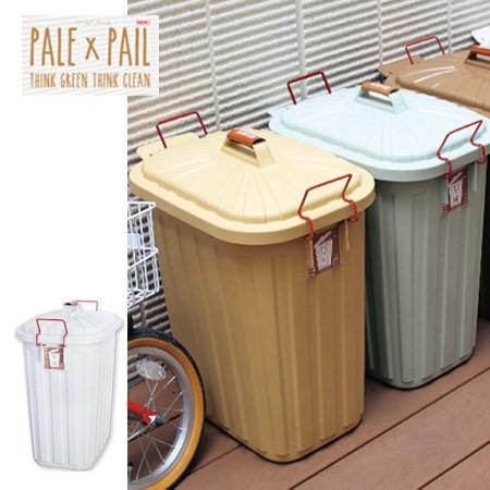 PALE PAIL(ペール×ペール) ゴミ箱 60Lホワ...