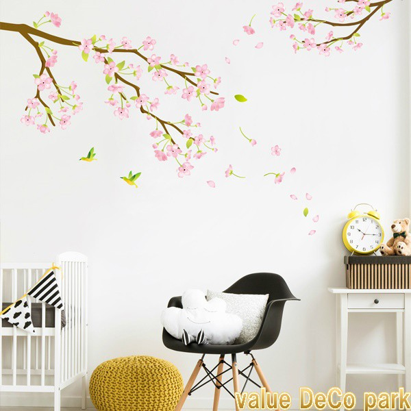 ウォールステッカー 花 木 植物 桜 さくら サクラ...