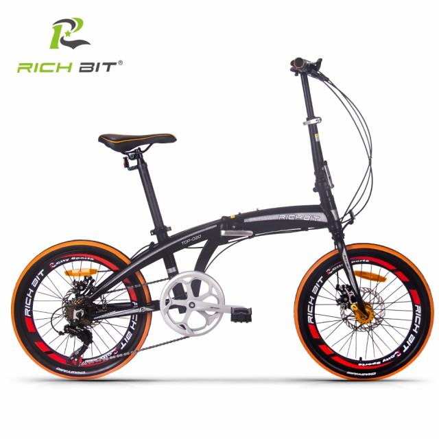 RICHBIT【国内正規品】 TP020 折りたたみ自転車 2...