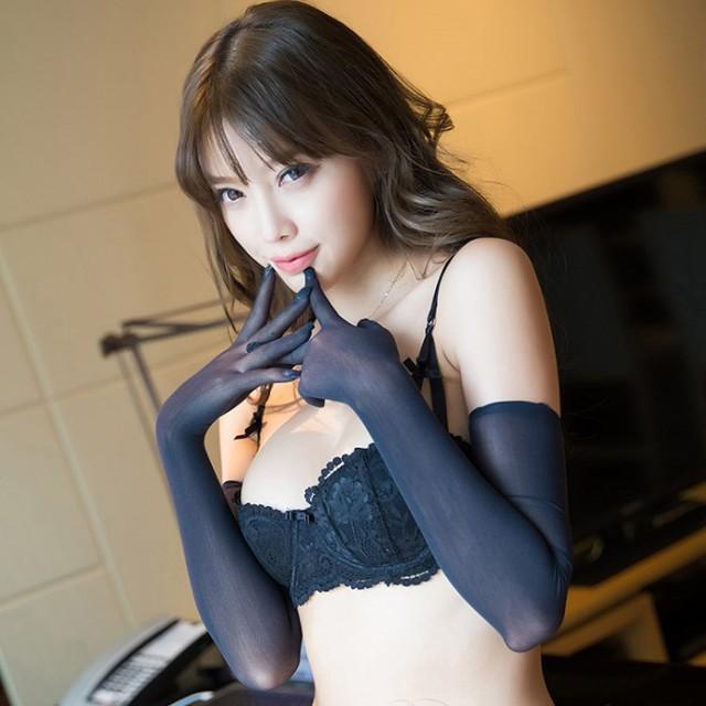 RoseSakura BS134 光沢 10デニール グローブ 手袋...