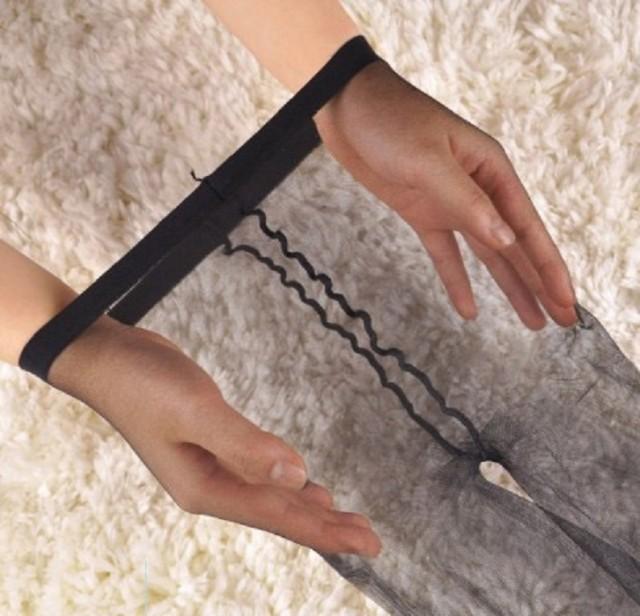 BS012 極薄 超薄 薄手 透明感 3デニール 3D スト...