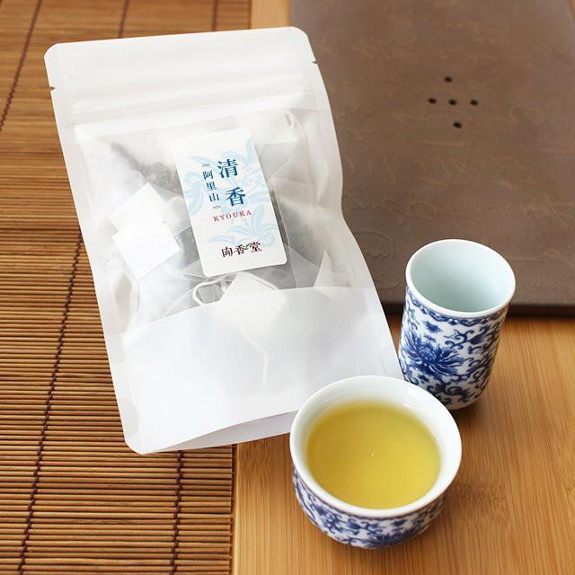【清香(kyouka)ティーバッグ30g】 台湾烏龍茶2017...