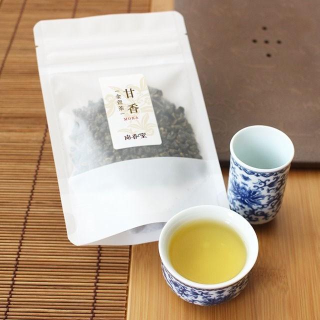 【甘香(moka)100g】 台湾烏龍茶2018年春茶 金萱茶...