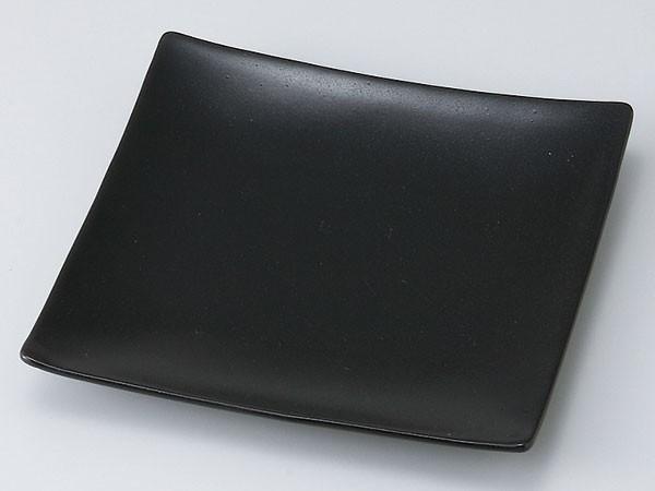 黒6.0正角皿