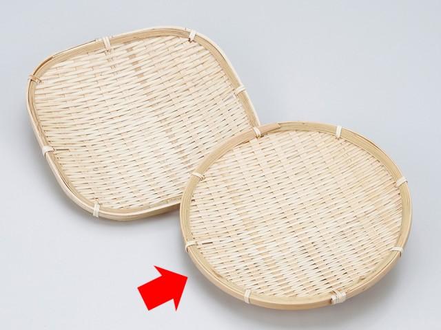 【和食器 そば用品 ザル 竹】竹ザル(丸)7寸
