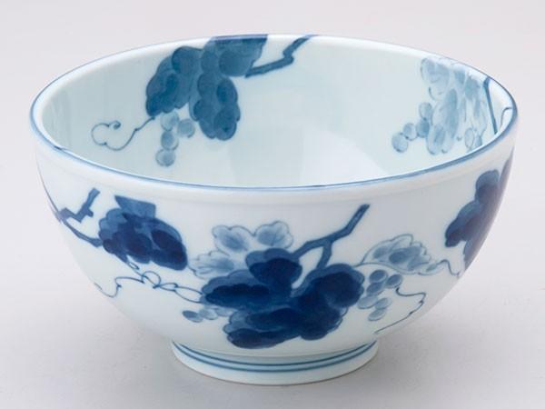 陶磁器 どんぶり 軽い/ かる〜い軽量丼(大)藍染...