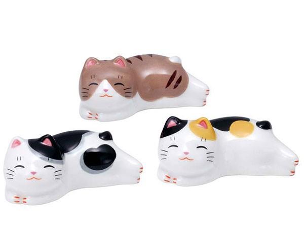 猫町ねこ箸置きセット(まったりトリオ)