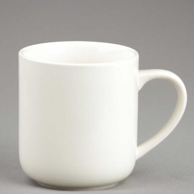 マグカップ コーヒーカップ シンプル/ アイボリー...