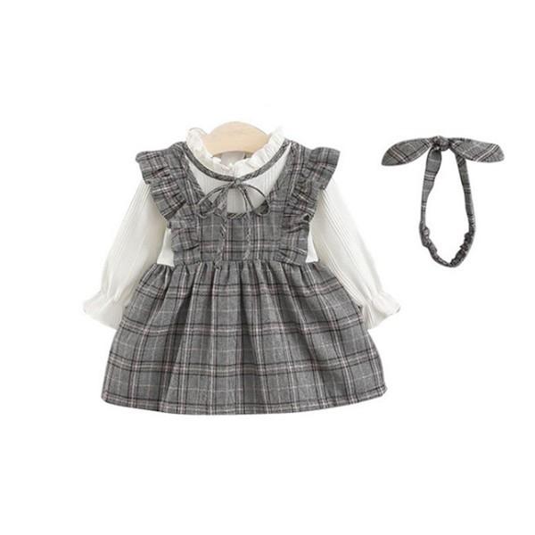 韓國子供服 スーツ 女の子 小學生 入園式 ワンピ...