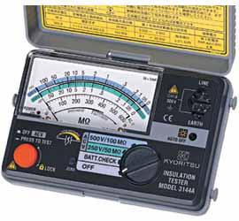 共立電気計器 KYORITSU 3147A 2レンジ小型絶縁抵...