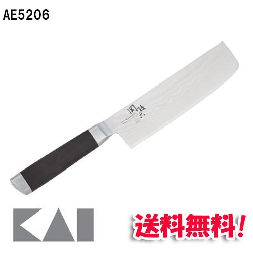 (送料無料) 貝印 関孫六 ダマスカス 菜切 165mm A...