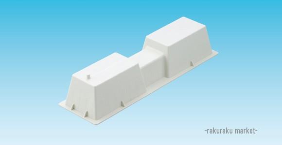 因幡電工 樹脂製エアコン架台 アイボリー LC-360N...