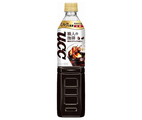 送料無料 UCC 職人の珈琲 ミルクに最適 930mlペッ...