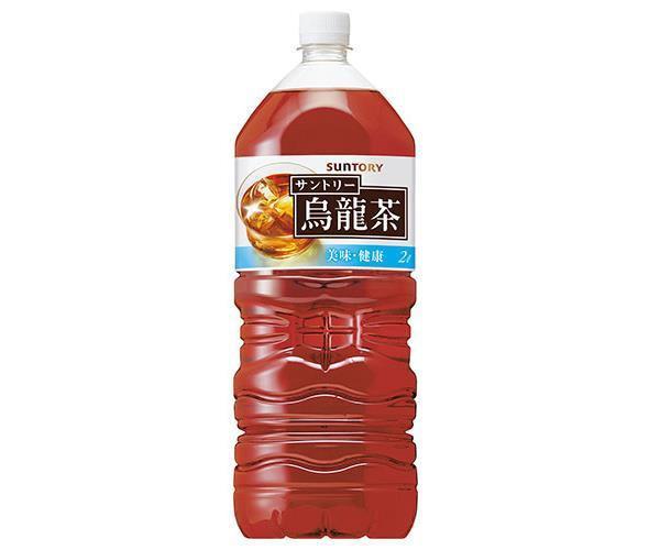【送料無料・2ケースセット】サントリー 烏龍茶 2...