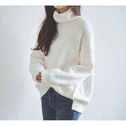 シンプル 秋冬 セーター フィット 使いやすい ゆ...