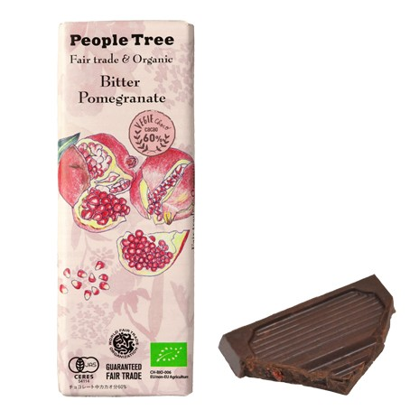【People Tree】フェアトレード・板チョコレート...