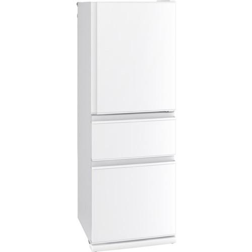 【無料長期保証】三菱電機 MR-C33F-W 3ドア冷蔵庫 (335L・右開き) Cシリーズ パールホワイト