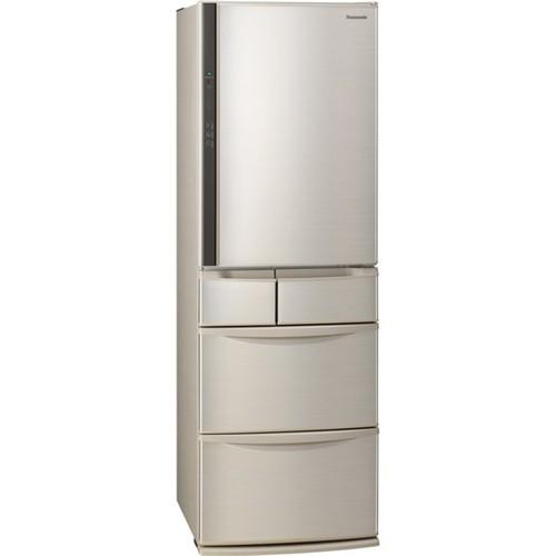 【無料長期保証】パナソニック NR-E416V-N 5ドア冷蔵庫(406L・右開き) シャンパン