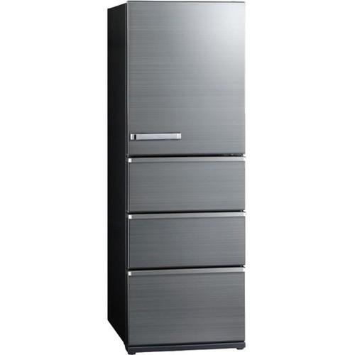 【無料長期保証】AQUA AQR-V43K(S) 4ドア冷蔵庫(4...