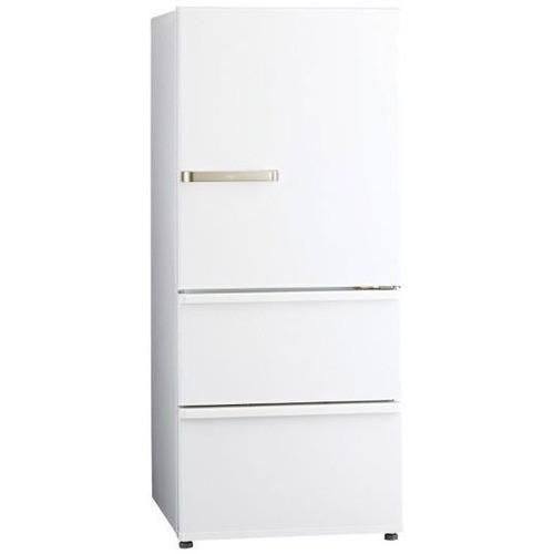 【無料長期保証】アクア AQR-27K(W) 3ドア冷蔵庫 ...
