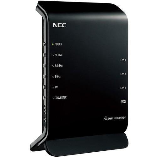 無線ルーター NEC  Wi-Fi PA-WG1200HS4 無線LANル...