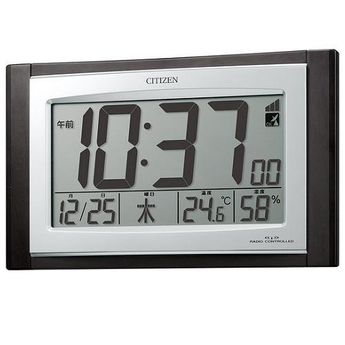 シチズン 8RZ096-023 デジタル電波時計 パルデジ...