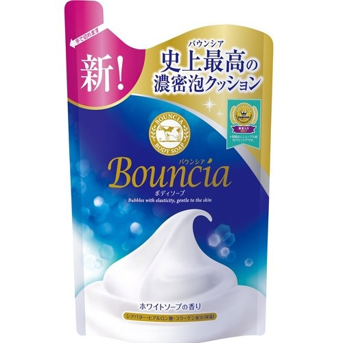 牛乳石鹸 バウンシアBSホワイトS詰替用400...