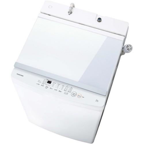 東芝 AW-10M7(W) 全自動洗濯機 10kg ピュアホワイ...