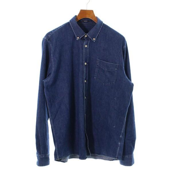 DENHAM / デンハム メンズ シャツ 色:インディゴ...